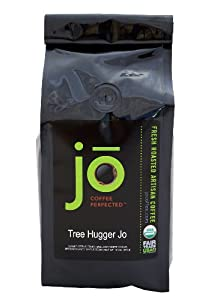 TREE HUGGER JO: 12 oz, Medium Roast, Whole Bean Arabica Coffee, USDA Certified Organic, Fair Trade Certified, Central American Rainforest, Gourmet Coffee from the Jo Coffee Collection