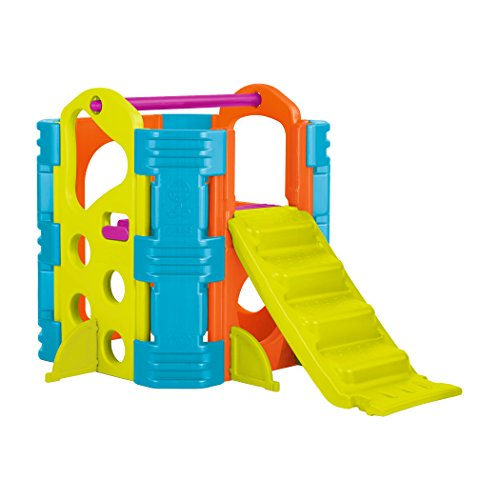 ECR4Kids Climb and Slide Playset, Vibrant (Hide And Slide Climber compare prices)