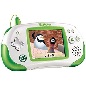 LeapFrog Leapster Explorer Learning Game System, Green $34.99