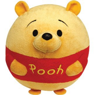 Ty Beanie Ballz Winnie The Pooh Plush, Bear, Large front-697314