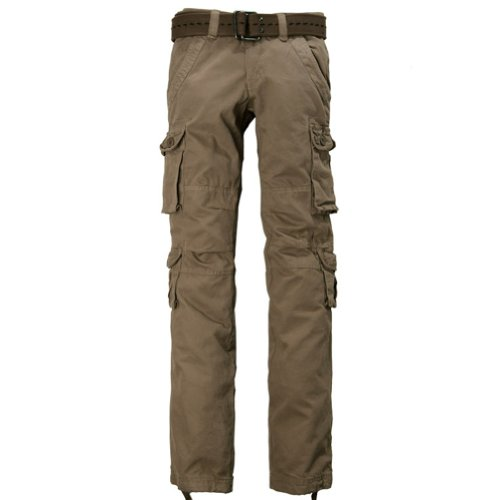 410d%2BzTjt L * Match Juniors Slim Fit Petite Cargo Pants Outdoor Camping N Hiking Casual Pants#2032 (Label size L/29 (US 6), Mud) Big SALE