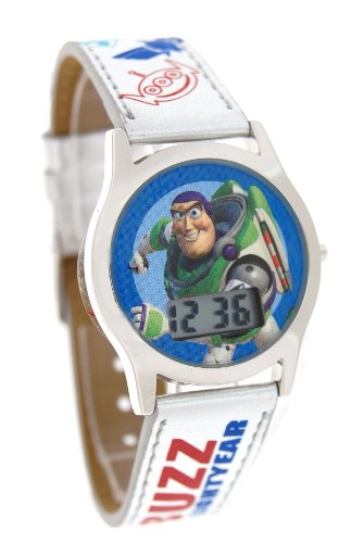 Disney Toy Story Digital Watch With Silver Band Model #41636