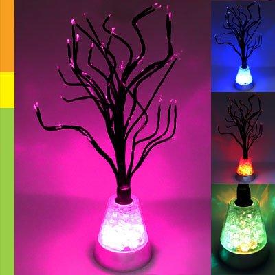 Design   Bedroom Online on Color Changing Led Tree Blossom Mood Light Desk Floor Lamp