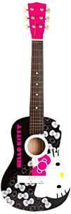 Hello Kitty 30″ Acoustic Guitar – Pin…