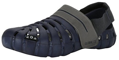 Globalite Men Navy Parko Iii Canvas Casual Shoes-7  available at amazon for Rs.297