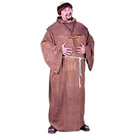 Medieval Monk Adult Plus Costume