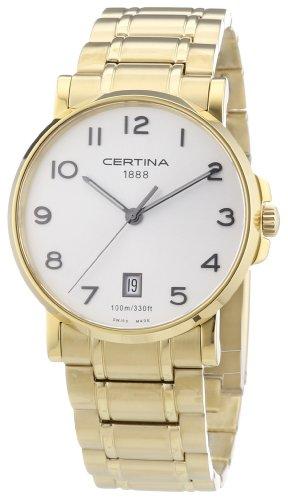 DS Podium Quartz Analog Stainless Steel Ladies Wristwatch Certina C001 310.11.117.00.