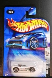 Hot Wheels Final Run Cat-A-Pult No Headlight Card Variation #136 (2004)