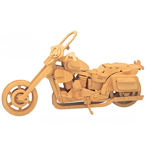 3D Wooden Puzzle- Motorcycle Jigsaw Puzzle