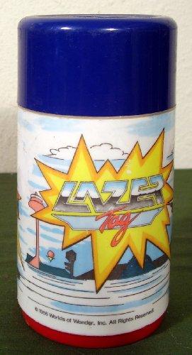 Lazer Tag Plastic Thermos 1986 - 1