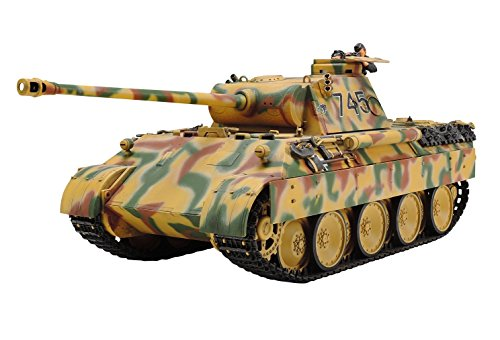 Tamiya Models Pz.Kpfw Panther Ausf. D Military Vehicle Building Kit (Sd.Kfz.171)