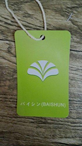 バイシン(BAISHUN)レディース チュニック Aライン ワンピース ふんわり 綿麻 パフスリーブ ワンピース 夏(ブラック6-04)