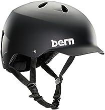 Bern Watts Thin Shell EPS Casque vélo urbain Homme Noir XXL/XXXL