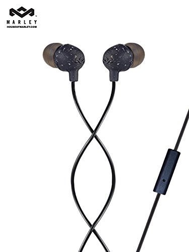 House of Marley Little Bird EM-JE061-BK Earphones with Mic