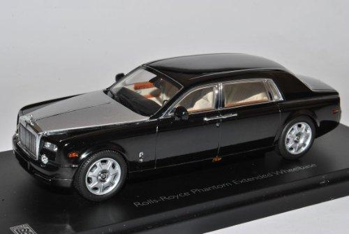 Rolls Royce Phantom 2012 Schwarz Silber 1/43 Kyosho Modell Auto
