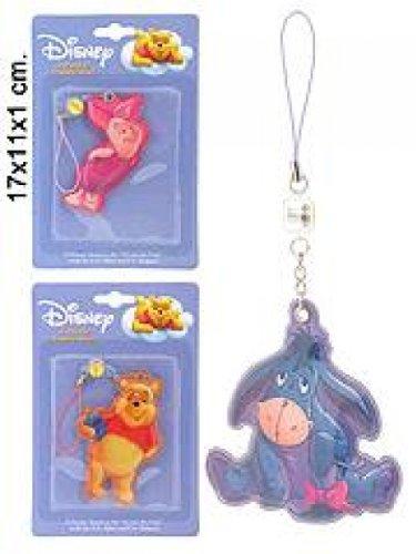 Handyanhänger ca. 8 bis 10cm Winnie Pooh (Puuh) und Freunde (Winnie)