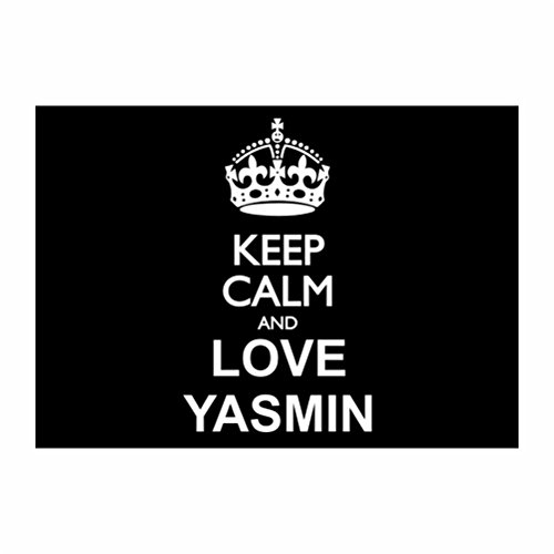 teeburon-keep-calm-and-love-yasmin-le-pack-de-4-autocollants