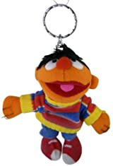 Ernie Zipper Pull Coin Purse - Sesame Street Ernie Keychain Coin Purse