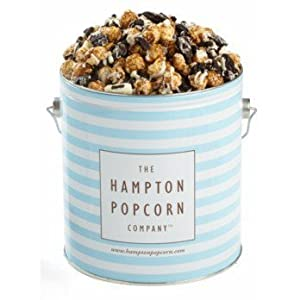 Hampton Popcorn 1 Gallon Tin Cookies and Cream