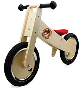 K-Roo Sports Wooden Balance Bike