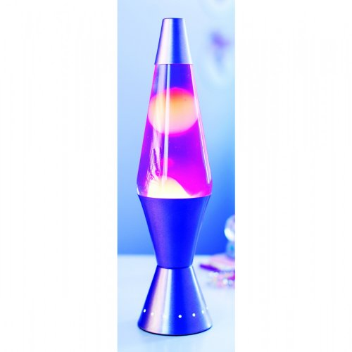 Purple Orange Designer Lava Lamp