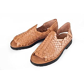 Brand x huarache for men ranchero tan. Tan.