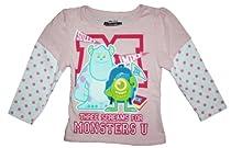 Monsters University Toddler Girls 2T-4T Long Sleeve T Shirt (4T)