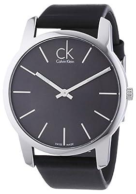 Calvin Klein City Men's Watch Dial/Cace Color: Grey/Silver K2G21107