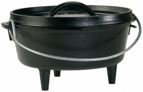 """LODGE (Lodge) camp oven 8 """""""" / Nostoc verrucosum pot"""