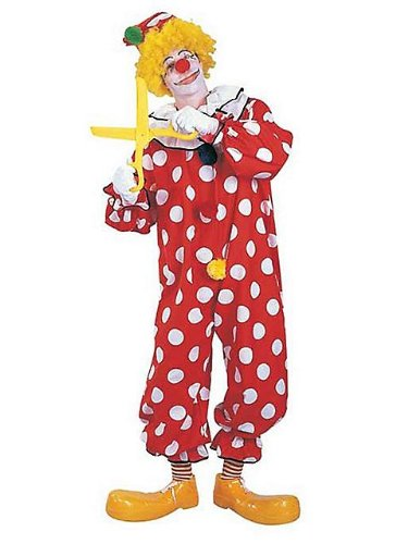 Dots the Clown Costume for Adult