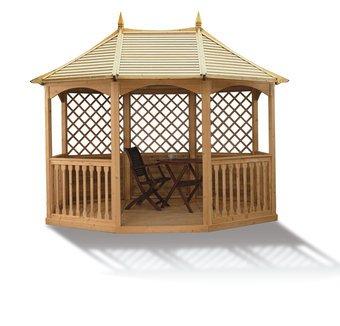 winchester gartenlaube klein gartenhaus aus holz g nstig. Black Bedroom Furniture Sets. Home Design Ideas