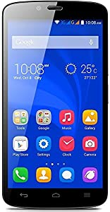 Honor Holly 3G UK SIM-Free Smartphone (5 inch, Touchscreen, 1.3 gHZ Quad-Core, 1GB RAM, 16GB ROM, 8MP rear camera, 2MP front camera, Android 4.4, Emotion UI 2.3) - Black