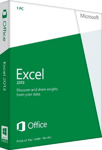 Excel 2013 French (1PC/1User) (PC Key Card)