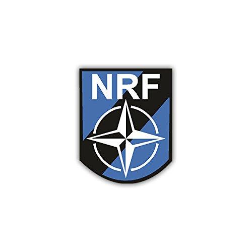 Aufkleber / Sticker -Nato Response Force Wappen Abzeichen Emblem NRF passend Für VW Golf Polo Gti MBW 3er Mercedes Audi Opel 7x6cm #A1115