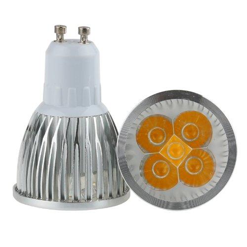 Lemonbest Pack Of 10 Pcs Energy Saving 5W 5X1W Gu10 Led Spotlight Bulb Epistar Led Chip, Warm White