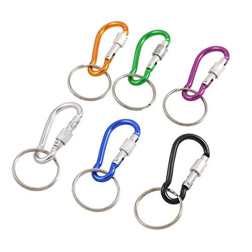 toogoor-6-pc-25cm-del-metal-del-anillo-colorido-llavero-titular-mosqueton-ganchos-bolsa