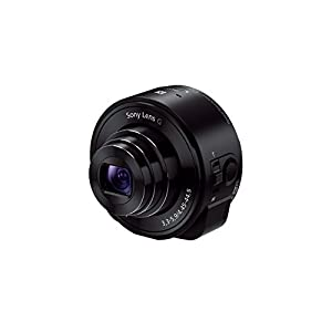 Sony QX10 Lens Style Camera for Smartphones and Tablets - Black (18.2MP, 10x Optical Zoom)