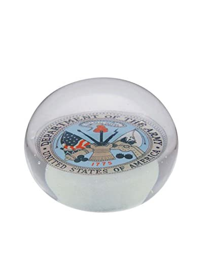 Dynasty Gallery Glass Army Paperweight, Blue