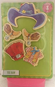 T.S. Shure Magnetic Wooden Dress-Up Clothes- Yee Haw Large Doll Clothes