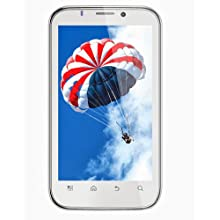 "OptimaSmart OPS-80 (White Color) Dual SIM 3G Smart Phone with 5.3"" Phablet with Free Flipcover"
