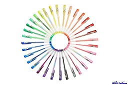 OUR Fashion 60 Colors Gel Pen Set - 60 Pack Gel Pens for Coloring Books,Drawing,Writing (Pack of 60)