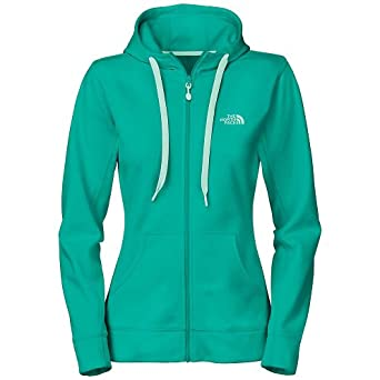 The North Face Ladies Fave-our-ite Full Zip Hoodie Medium Jaiden Green by The North Face