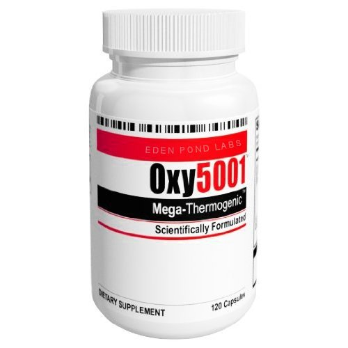 Oxy5001 Mega Thermogenic Weight Loss Supplement 120-Capsules