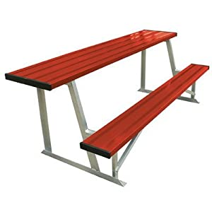 Buy (Price EA)SSG BSN 7.5' Scorer's Table With Bench (colored) - Powder Coated by SSG
