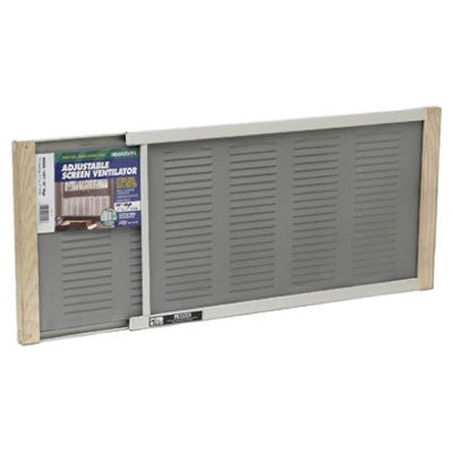 Thermwell Products AWS1207 10x21-37 Louver Screen (Window Fan With Screen compare prices)