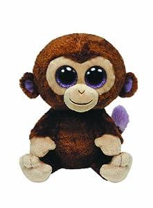 Ty 36003 Beanie Boos Coco - Chimpancé de peluche (15 cm) [Importado de Alemania]