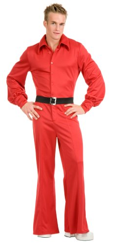 Studio 54 Jumpsuit Men's 70s Polyester Jumpsuit 02220