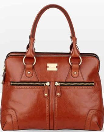 Modalu Brown Leather Shoulder Bag 49