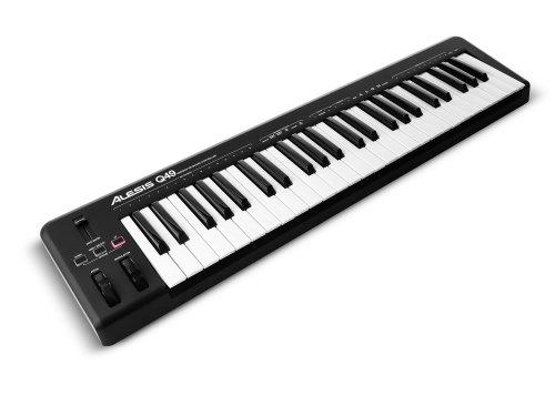 photo Alesis Q49 - Clavier Maître USB MIDI 49 Touches Dynamiques et Sensibles + Logiciels Ableton Live Lite & Ignite Inclus