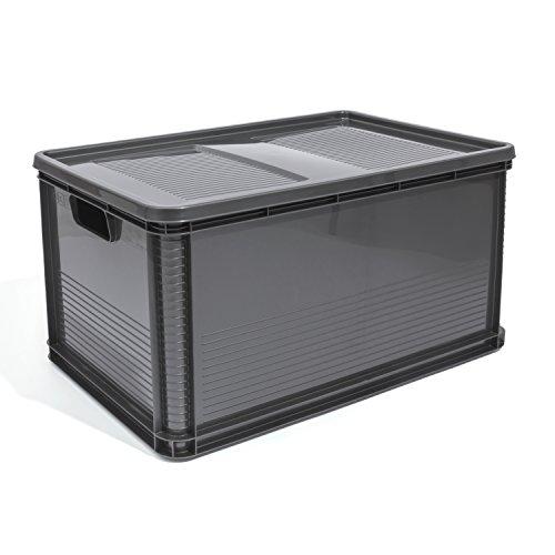 64-Liter-Lagerkiste-Euro-Box-Stapelbox-Transportbox-mit-Deckel-geschlossene-Obstbox-Gewerbekiste-Lager